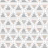 Triangolo senza cuciture del modello retro Fotografie Stock Libere da Diritti