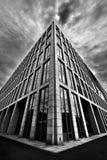 Triangulär byggnad Fotografering för Bildbyråer