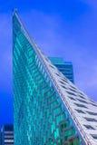 Triangulär byggnad Royaltyfri Fotografi