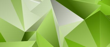 Triangulär 3d, modern bakgrund Royaltyfria Bilder