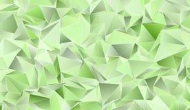 Triangulär 3d, modern bakgrund Fotografering för Bildbyråer