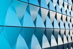Triangulär formad väggdesigntextur Royaltyfria Bilder