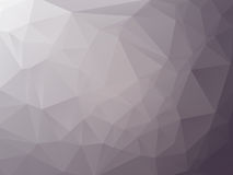 Triangulär grafitgrå färgbakgrund Arkivbild