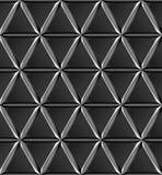 Triangulär textur för stål Royaltyfri Foto