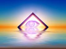Triangulärt beskåda Royaltyfria Bilder