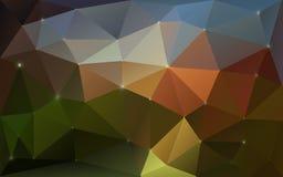 Triangulärt färgrikt texturerar Royaltyfria Foton