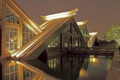 Triangulärt hus Arkivfoto