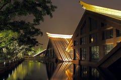 Triangulärt hus Arkivbilder