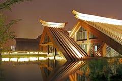 Triangulärt hus två Royaltyfri Fotografi
