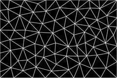 Triangulärt polygonal mellanrum Royaltyfria Bilder