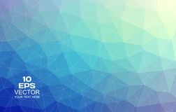 Triangular Abstract Background Royalty Free Stock Image