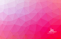 Triangular Abstract Background stock images