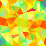 Triangular abstract background design element. Illustration Stock Photo