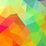 Triangular abstract background design element. Illustration Royalty Free Stock Images
