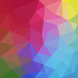 Triangular abstract background design element. Illustration Royalty Free Stock Image