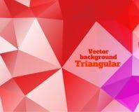 Triangular background Royalty Free Stock Image