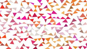 Triangular background sequentially stop motion animation. Coloring triangular background sequentially stop motion animation stock video footage