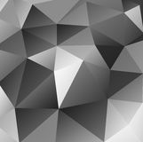 Triangular black background Royalty Free Stock Image