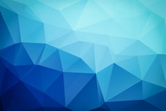 Triangular blue abstract background. Pattern Royalty Free Illustration