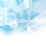 Triangular blue bokeh background folder Royalty Free Stock Photos