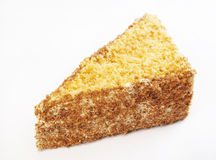 Triangular cake Royalty Free Stock Image