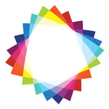 Triangular Colorful Background Royalty Free Stock Image
