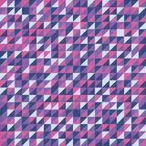 Triangular colorful pattern background. Triangular pattern pop-art background with canvas texture Royalty Free Stock Photography