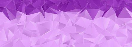 Triangular 3d, modern background royalty free illustration