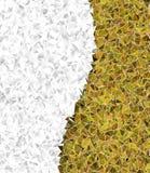 Triangular 3d, modern background stock illustration