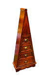 Triangular drawers Stock Image