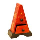 Triangular drawers Royalty Free Stock Photo