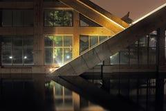 Triangular house Royalty Free Stock Photo