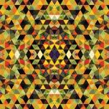Triangular Mosaic Colorful BackgroundΠStock Photos