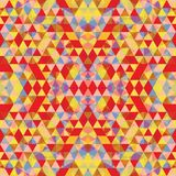 Triangular Mosaic Colorful BackgroundΠRoyalty Free Stock Image