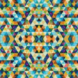 Triangular Mosaic Colorful BackgroundΠRoyalty Free Stock Images