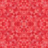 Triangular Mosaic Colorful BackgroundΠRoyalty Free Stock Photo