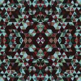 Triangular Mosaic Colorful BackgroundΠStock Image