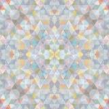 Triangular Mosaic Colorful BackgroundΠRoyalty Free Stock Image