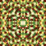 Triangular Mosaic Colorful BackgroundΠRoyalty Free Stock Photo