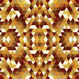 Triangular Mosaic Colorful BackgroundΠRoyalty Free Stock Images