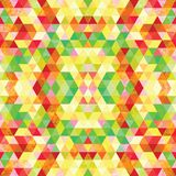 Triangular Mosaic Colorful BackgroundΠStock Photography