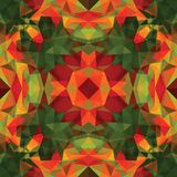 Triangular Mosaic Colorful BackgroundΠStock Image