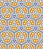 Triangular pattern Stock Photo