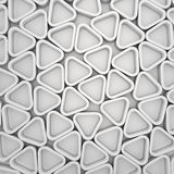 Triangular pattern Stock Image