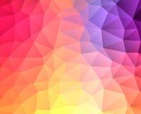 Triangular pattern Royalty Free Stock Image