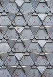 triangular pattern stone bricks Stock Photos