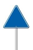 Triangular road sign Stock Image