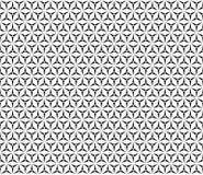 Triangular seamless pattern, simple triangular texture Stock Photography