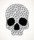 Triangular skull Royalty Free Stock Image