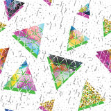 Triangular space design. Abstract ornament. Stock Photography